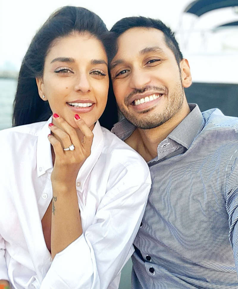 "Arjun Kanungo gets engaged to longtime girlfriend Carla Dennis; says ""Couldn't wait any longer"""