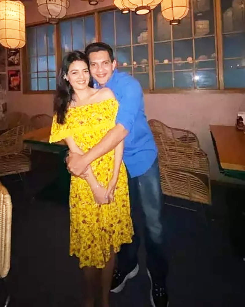 Pictures from Aditya Narayan & Shweta Agarwal's pre-wedding celebration