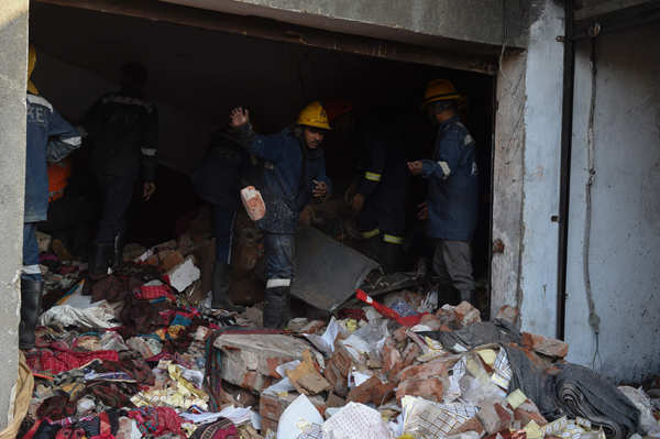 Ahmedabad: At least 12 labourers killed in blast at chemical warehouse