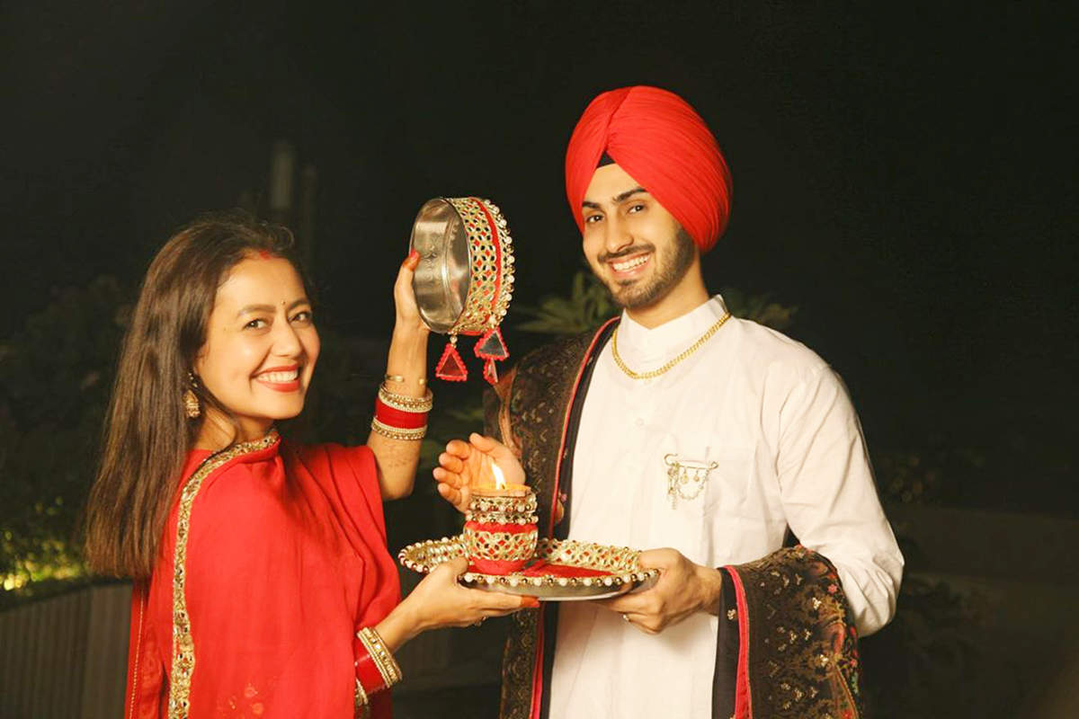 Unseen picture from Neha Kakkar and Rohanpreet Singh's wedding