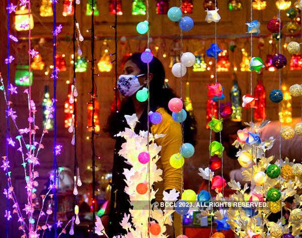 Preparations in full swing for Diwali