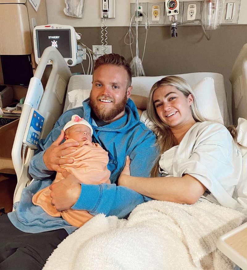 Lindsay Arnold welcomes her first child with husband Samuel Lightner Cusick