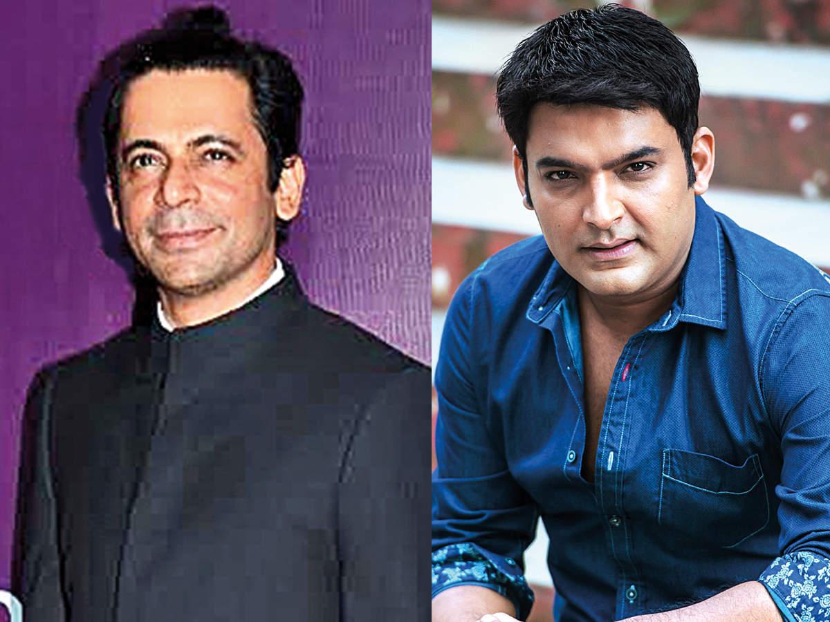 (L) Sunil Grover (R) Kapil Sharma (BCCL)