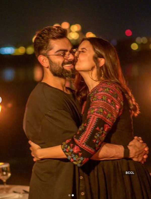 Virat Kohli and Anushka Sharma take the internet by storm with their PDA pictures