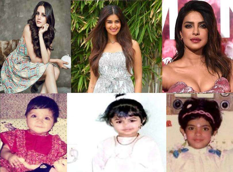 Miss India queens and their adorable little selves