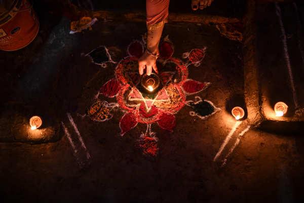 Diwali celebrated with religious fervour