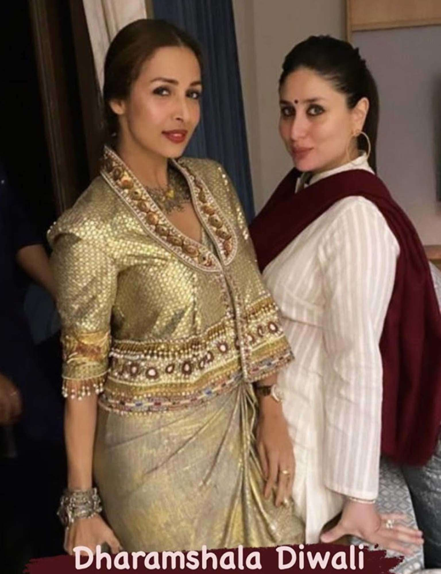 Malaika Arora joins Kareena Kapoor and Saif Ali Khan in Dharamshala for Diwali