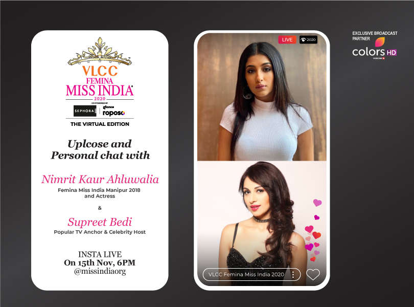 Stay tuned as we go live with Nimrit Kaur Ahluwalia and Supreet Bedi