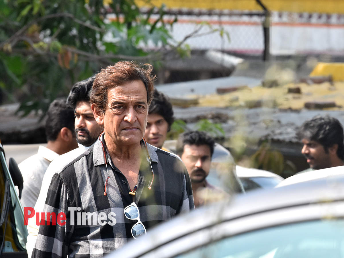 Aayush Sharma shoots a chase sequence for Antim in Pune