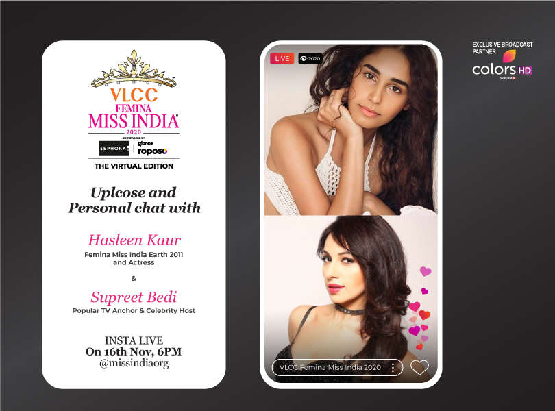 Stay tuned as we go live with Hasleen Kaur and Supreet Bedi