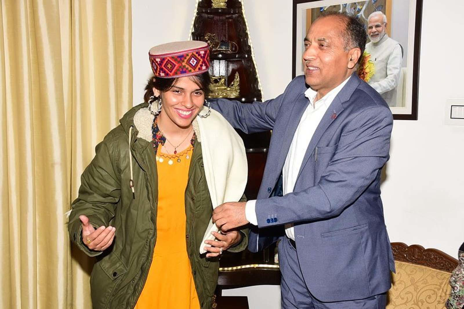 After Maldives, Saina Nehwal visits Shimla with husband Parupalli Kashyap