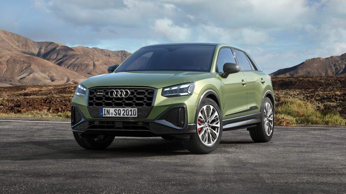 Audi SQ2 now sharper and sportier