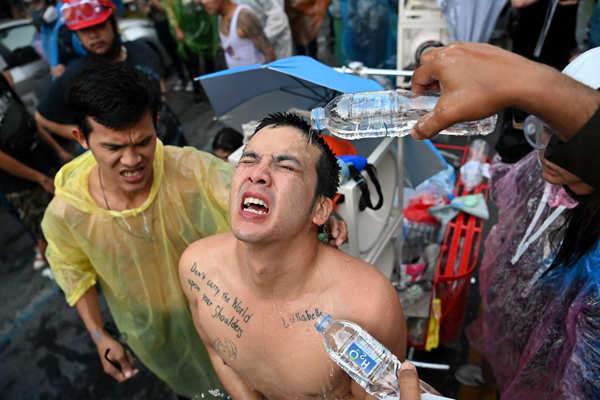 Violent protests leave at least 55 injured in Thailand