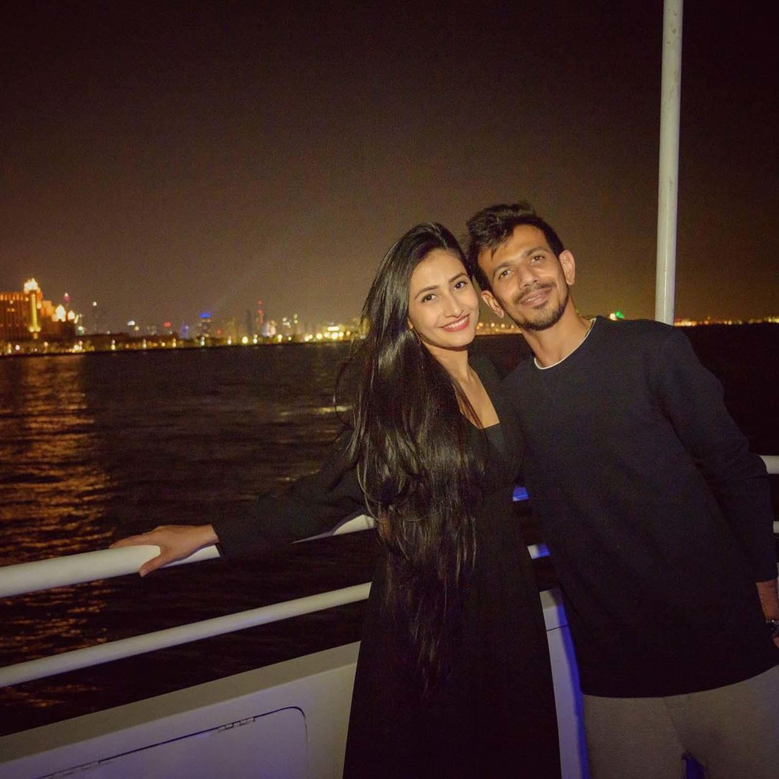 Yuzvendra Chahal and fiance Dhanashree Verma aren't afraid of a little PDA