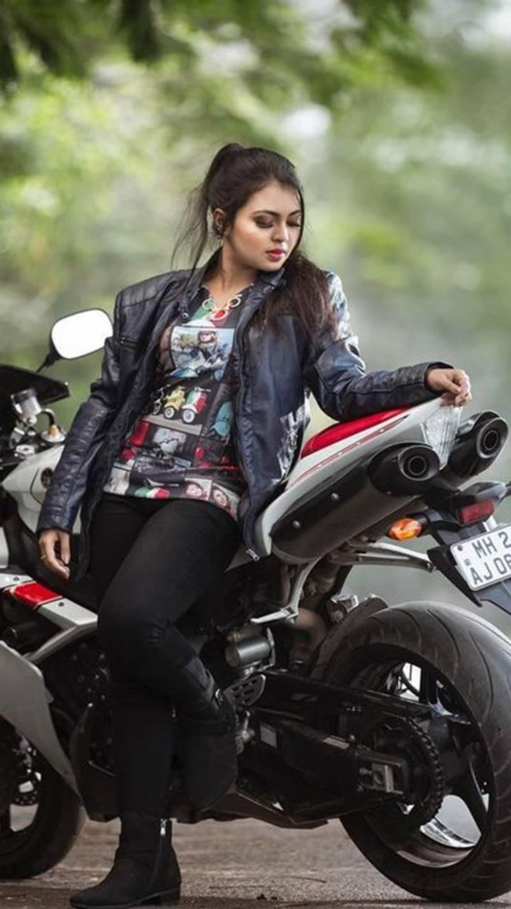The biker girl