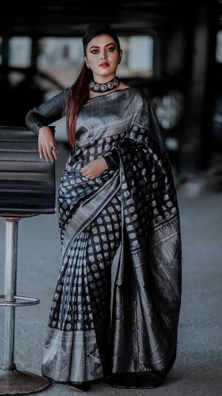 Elegant in a saree