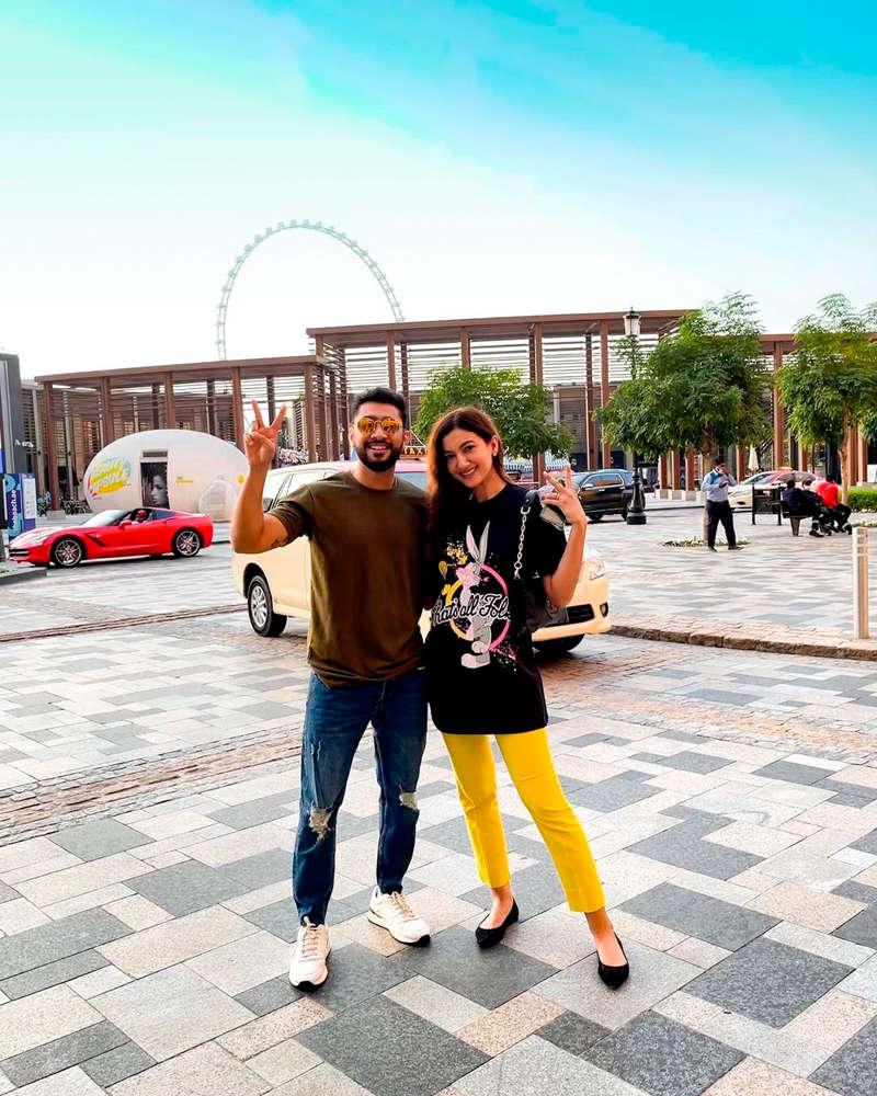 Lovebirds Gauahar Khan and Zaid Darbar go on a romantic holiday to Dubai