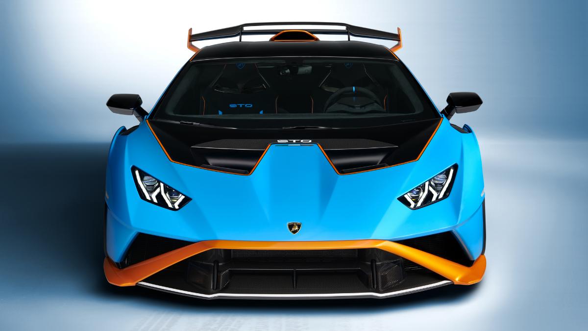 Lamborghini Huracán STO street-legal hypercar
