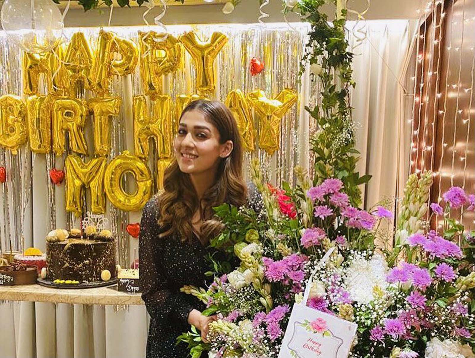 Nayanthara's photos go viral as wishes pour in on social media