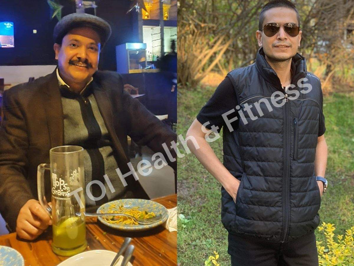 Weight loss: I gave up my biggest addiction 'Maggi' and lost 20 kilos in 5 months with diet control and workout! - Times of India