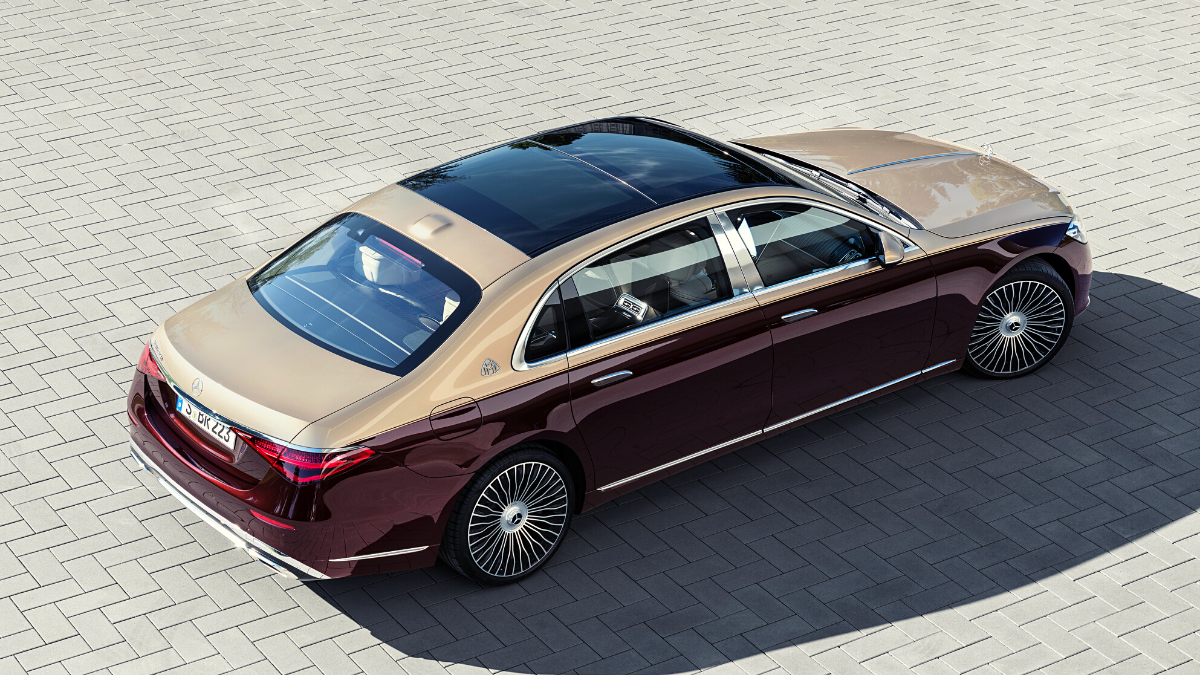 Distinctive looks with the Maybach touch