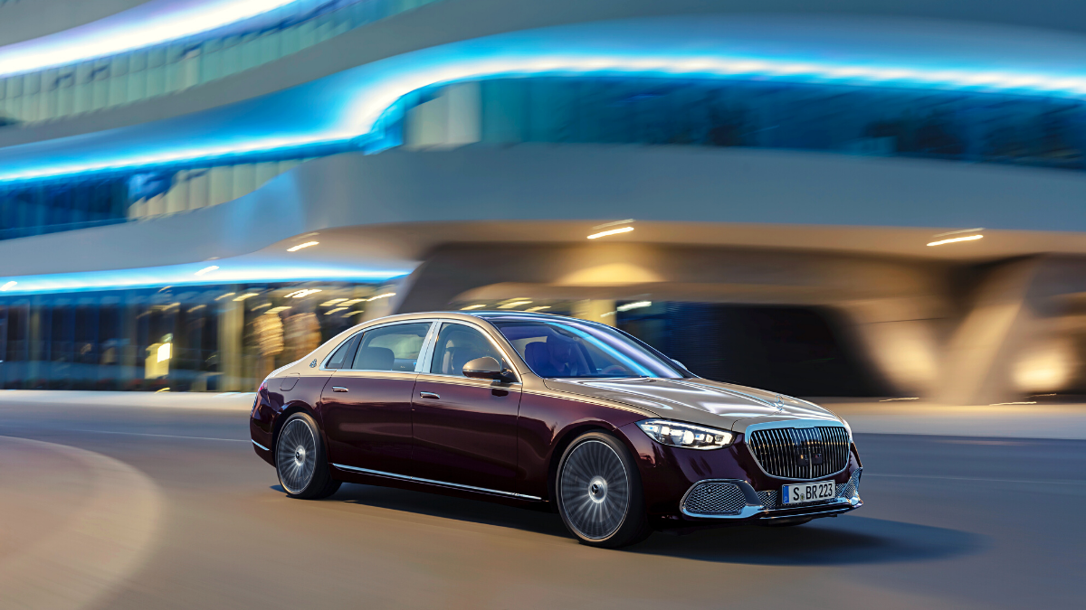 2021 Mercedes Maybach S-Class Opulence in pictures