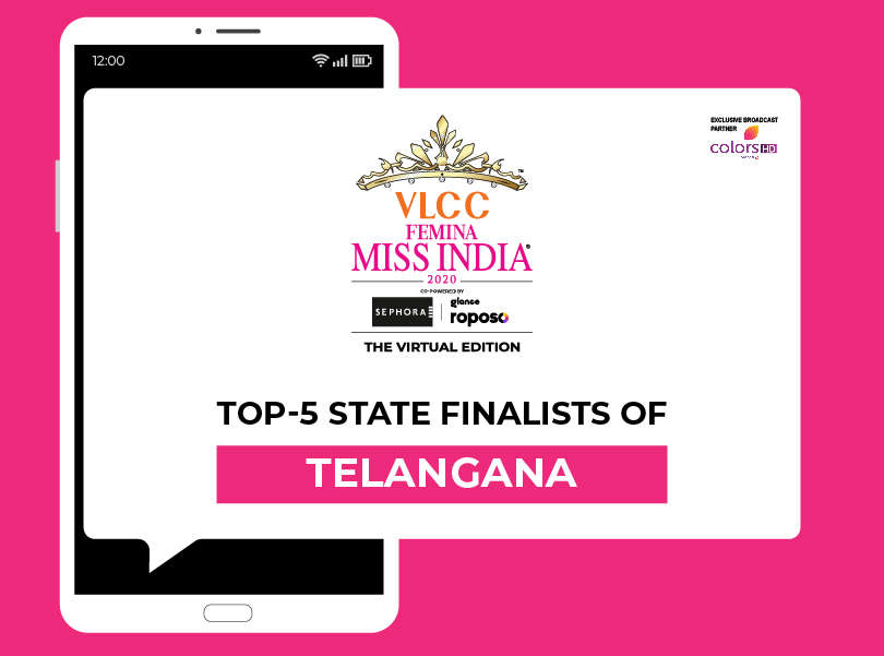 Introducing VLCC Femina Miss India Telangana​ 2020 Finalists!​