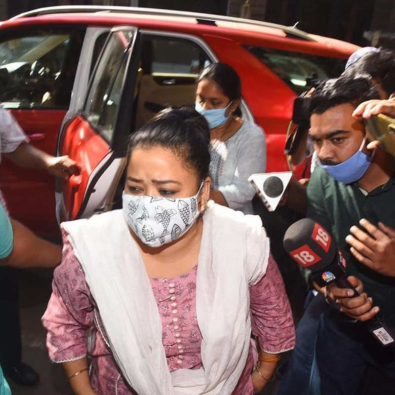 Comedian Bharti Singh, husband arrested in drugs probe