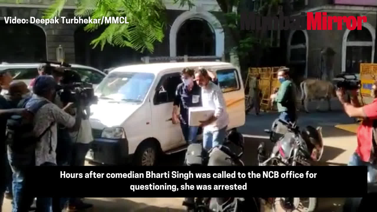 Comedian Bharti Singh arrested; ganja recovered from her house and production office