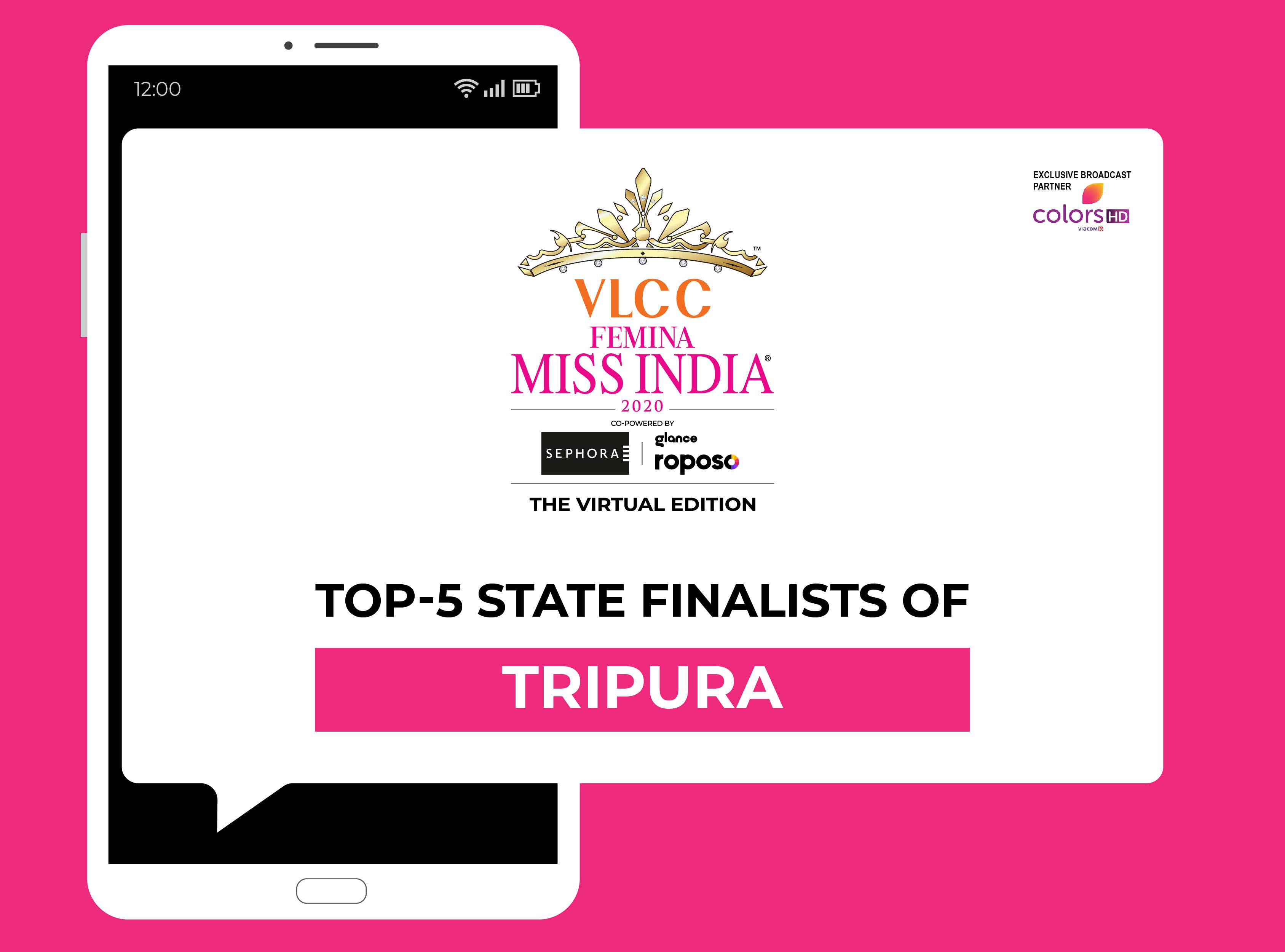 Introducing VLCC Femina Miss India Tripura 2020 Finalists!