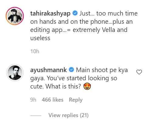 Tahira Kashyap Instagram