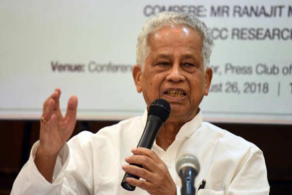 Ex-Assam CM Tarun Gogoi dies of post-Covid illness