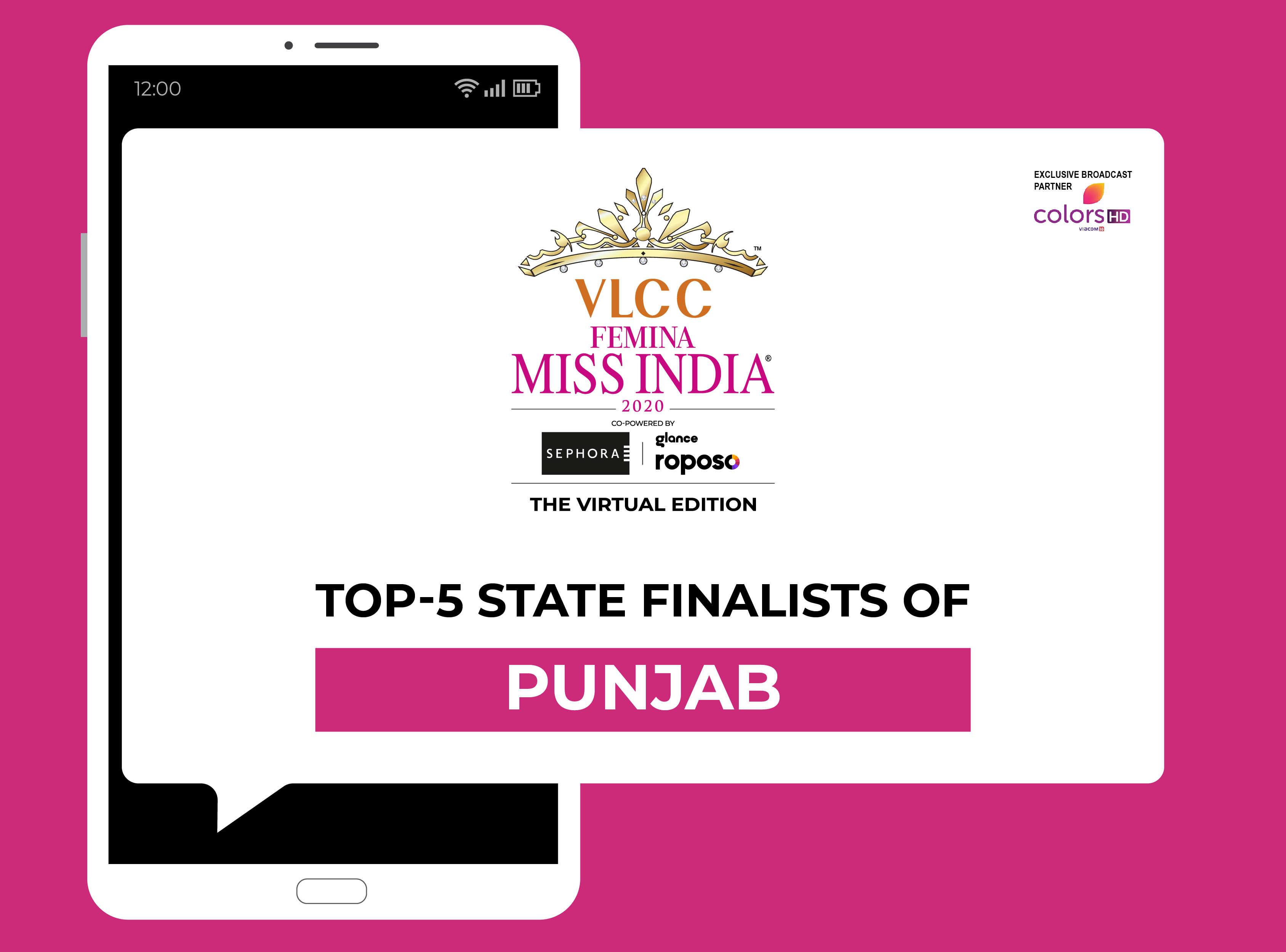 Introducing VLCC Femina Miss India Punjab 2020 Finalists!