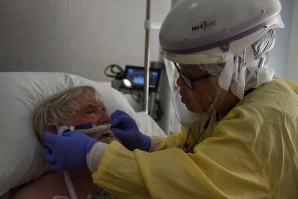 COVID cases flood hospitals in America's heartland