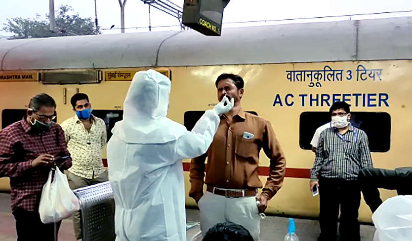 COVID-19: BMC tests passengers arriving in Mumbai from Delhi, Rajasthan, Gujarat and Goa