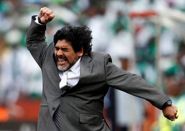 Football legend Diego Maradona dies of heart attack