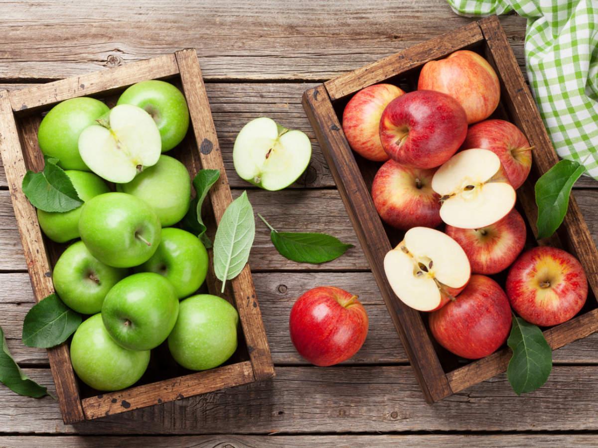 3 Hal Yang Membedakan Buah Apel Hijau Dan Apel Merah