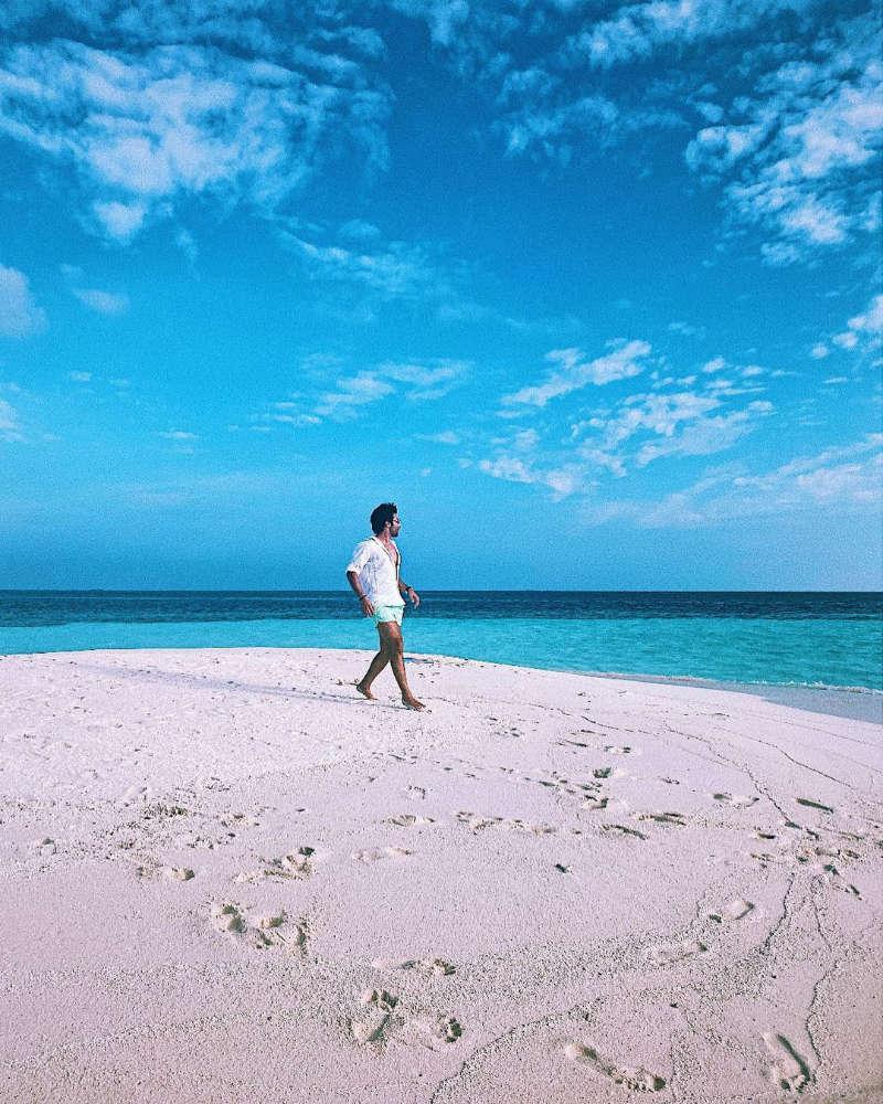 Rumoured lovebirds Tara Sutaria and Aadar Jain holiday in style in Maldives