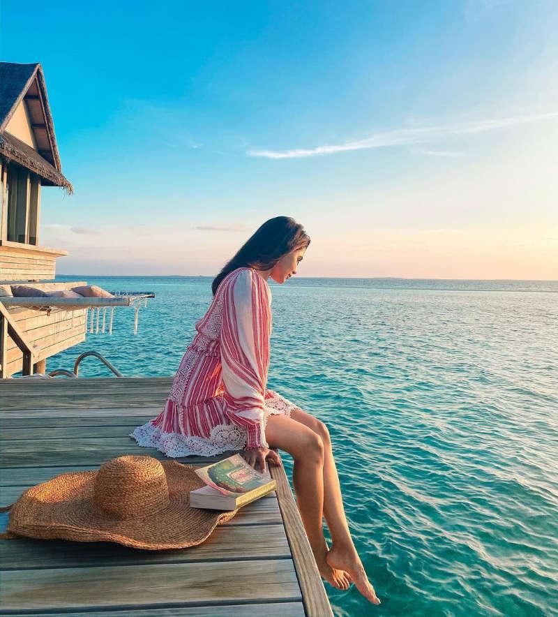 Samantha Akkineni jets off to Maldives with her husband Naga Chaitanya
