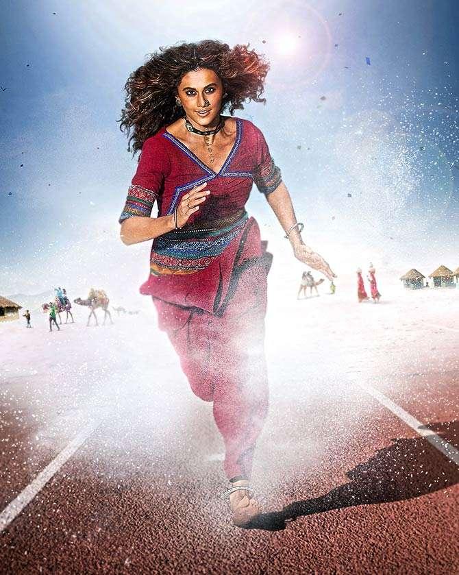 Taapsee Pannu's Intense Transformation For Rashmi Rocket