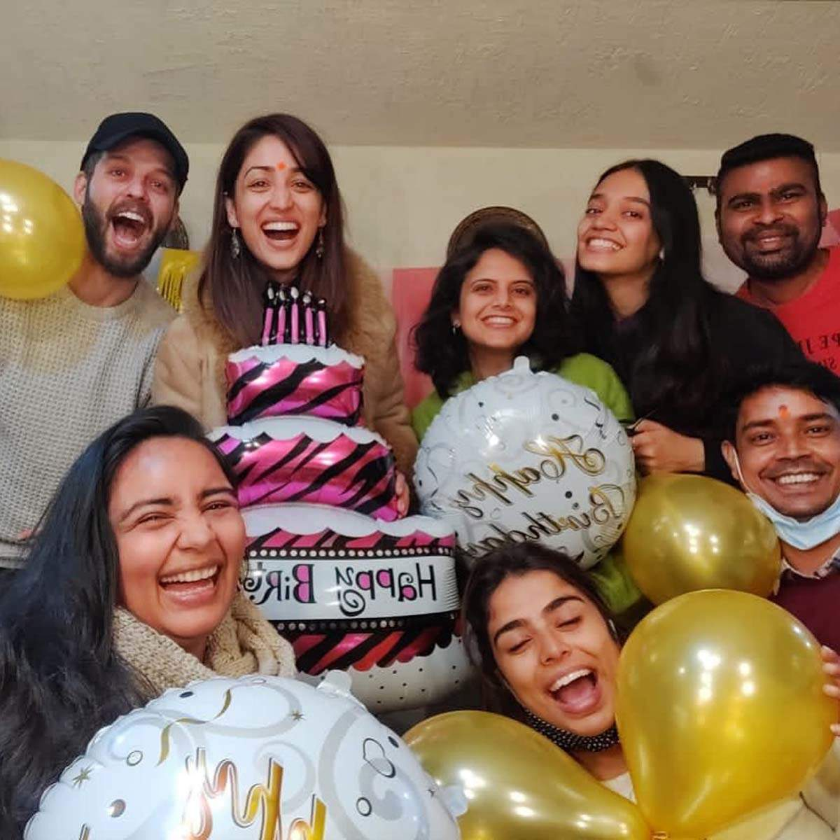 Exciting inside pictures from Yami Gautam's birthday party in Himachal Pradesh
