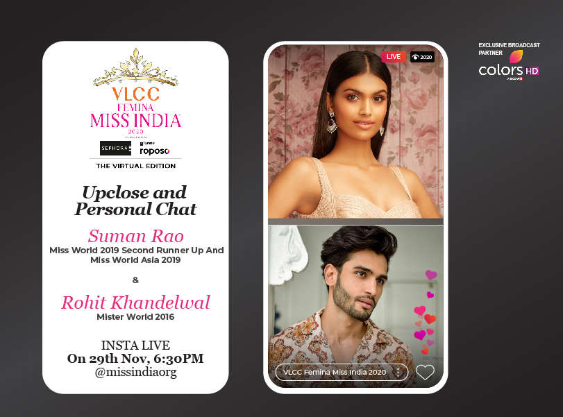 Stay tuned as we go live with Suman Rao and Rohit Khandelwal