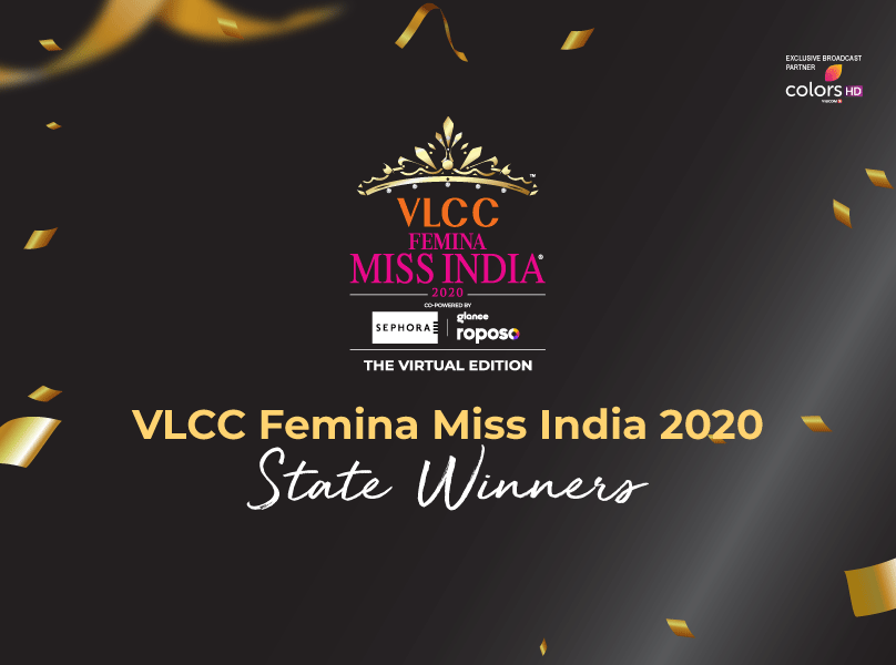 National Announcement: Top 31 state winners of VLCC Femina Miss India 2020