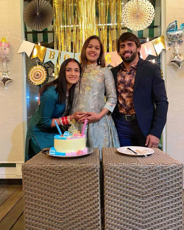 Wrestler Babita Phogat shares heartwarming pictures from her baby shower
