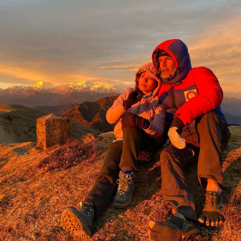 Milind Soman and wife Ankita Konwar give travel goals with their vacation pictures