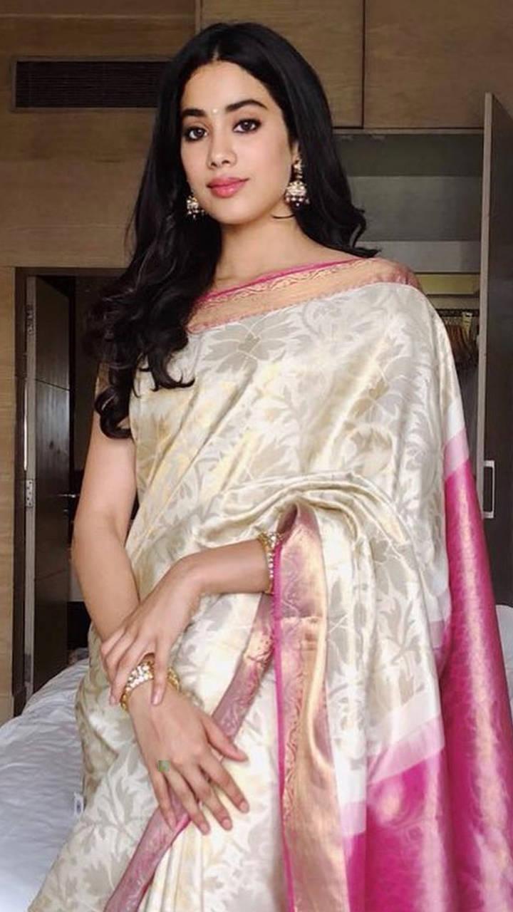 Janhvi Kapoor's stylish saree collection   Times of India