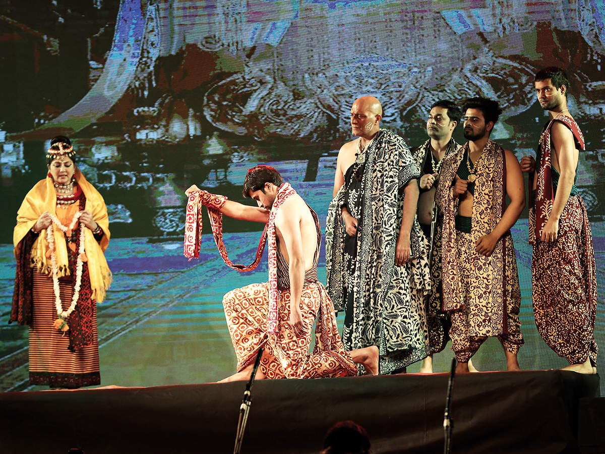 A scene from the play (BCCL/ Aditya Yadav)