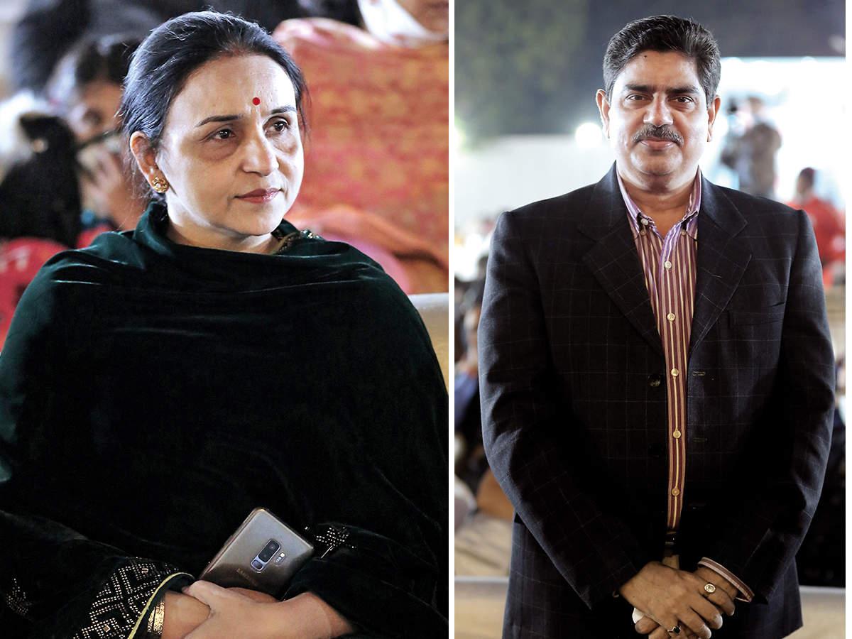 (L) Dr Keya Pandey (R) Prof Alok Kumar Rai  (BCCL/ Aditya Yadav)