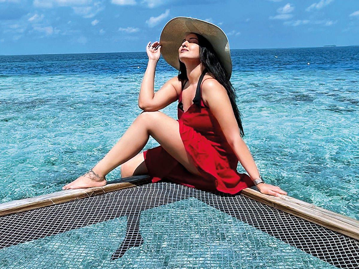 Sonakshi Sinha in Maldives