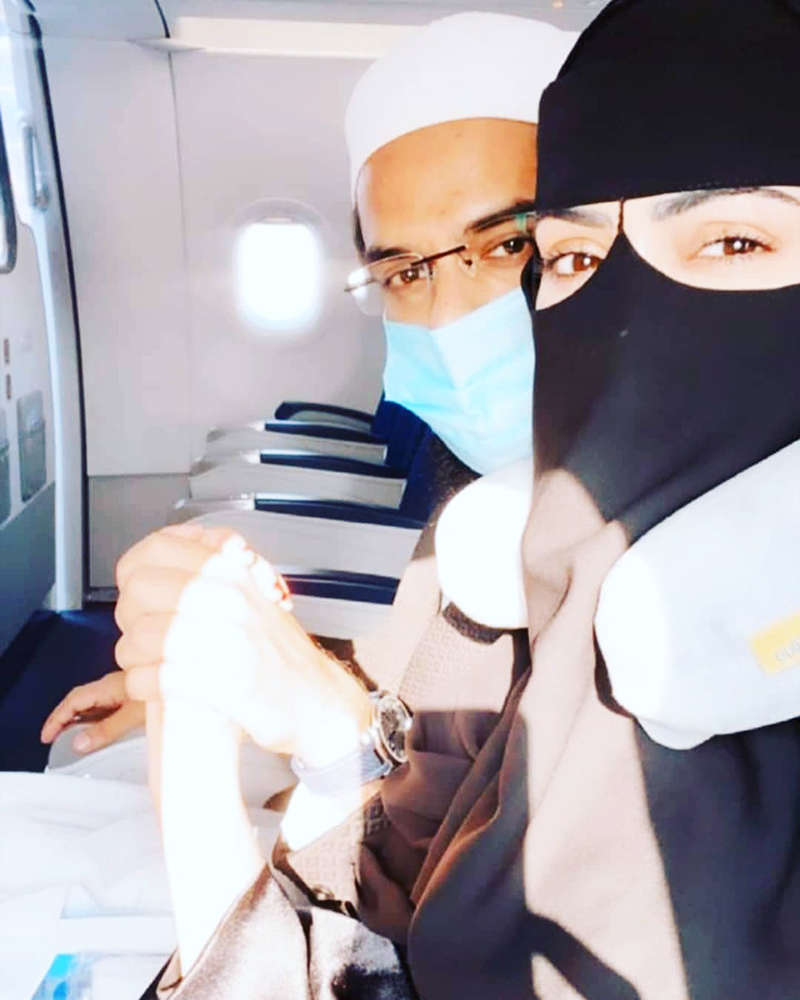 Unmissable romantic pictures from Sana Khan's honeymoon